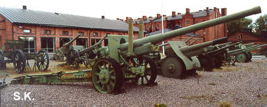 The long range cannon 122 K 31